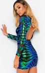Ally Backless Sequin Mini Dress Thumbnail
