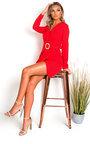 Ally Belted Shirt Mini Dress Thumbnail