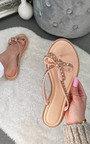 Alta Bow Detail Sandals Thumbnail