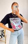 Amal Floral Printed T-Shirt Thumbnail