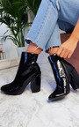 Amalie Block Heeled Boots Thumbnail