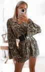 Amber Printed Smock Dress Thumbnail