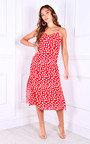 Anita Printed Midi Dress Thumbnail