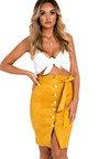 Annie Button Up Midi Skirt Thumbnail