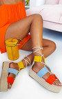 Annie Flatform Rope Sandals Thumbnail
