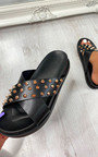Antonia Studded Strappy Sandals Thumbnail