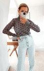 Anya Polka Dot Sheer Jumper Thumbnail