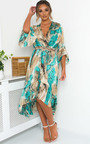Anya Printed Floaty Maxi Dress Thumbnail
