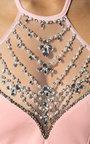 Arabella Fishtail Embellished Maxi Dress Thumbnail