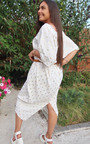 Aria Batwing Polka Dot Maxi Dress Thumbnail