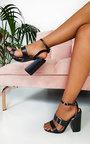 Aria Buckle Block Heels Thumbnail