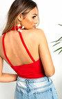 Aria Caged Strappy Bodysuit  Thumbnail