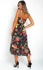 Aria Floral Print Maxi Dress Thumbnail