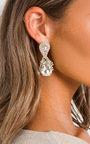 Aria Jewel Drop Diamante Earrings  Thumbnail