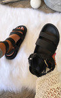 Aria Strappy Buckle Sandals Thumbnail