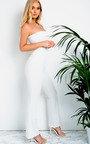 Arianna Slim Leg Bardot Jumpsuit Thumbnail