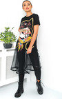 Ariella Printed T-Shirt Dress Thumbnail