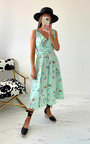 Aries Printed Midi Dress Thumbnail