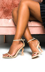 Arla Barely There Statement Dollar Heels Thumbnail