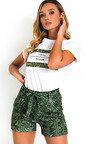 Arla Slogan T-Shirt and Shorts Co-ord  Thumbnail