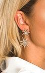 Arla Star Diamante Drop Earrings Thumbnail