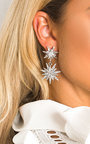 Arla Star Diamante Drop Earrings Thumbnail