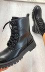 Arlo Studded Biker Boots Thumbnail