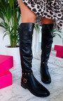 Arlo Studded Knee High Boots Thumbnail