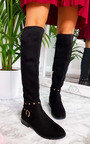 Arlo Studded Knee High Boots Thumbnail