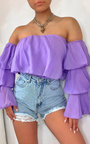 Ashleigh Off Shoulder Layered Top Thumbnail