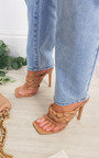 Ashley Braided Slip on Mule with Chain Detail Thumbnail