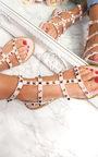 Athena Studded Gladiator Sandals Thumbnail