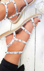 Athena Studded Gladiator Sandals Thumbnail