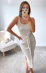 Atlanta Knitted Bodycon Midi Dress Thumbnail