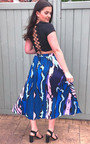 Aubree Lace Corset Crop Top Thumbnail