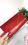 Ava Check Envelope Clutch Bag Thumbnail