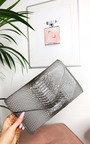 Avril Patent Envelope Clutch Bag Thumbnail