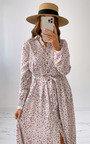 Ayla Maxi Shirt Dress Thumbnail
