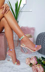 Bailey Iridescent Barely There Block Heels Thumbnail
