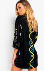 Bailey Sequin Oversized T-Shirt Dress Thumbnail