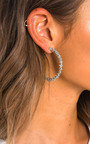 Bali Spiked Hoop Earrings  Thumbnail