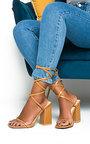 Ballie Tie Up High Heels  Thumbnail
