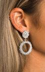 Barbra Statement Vintage Earrings  Thumbnail