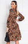 Bec Leopard Print Shift Dress Thumbnail