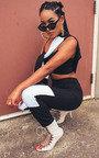 Beki Slim Fit Stripe Panel Tracksuit Thumbnail