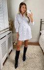 Bella Belted Shirt Dress Thumbnail