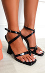 Bella Strappy Statement High Heels  Thumbnail