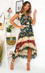 Benny Bold Print Maxi Dress Thumbnail