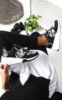 Bethan Chunky Printed Trainers Thumbnail