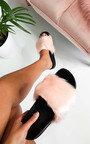 Bethany Faux Fur Sliders Thumbnail